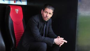 HLV Simeone hài lòng khi Atletico bị Sevilla chia điểm
