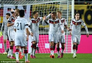 TRỰC TIẾP: Georgia vs Đức 23h ngày 29/3 vòng loại Euro 2016