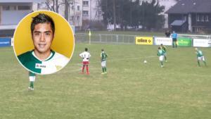 Cầu thủ bóng đá gốc Việt sút phạt đẹp mắt trên đất Thụy Sỹ