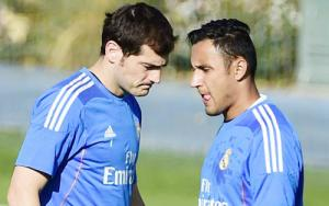 Keylor Navas muốn cướp suất bắt chính của Casillas