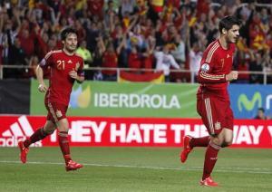 Tây Ban Nha 1-0 Ukraine: Bò tót vất vả quật ngã chiến binh Đông Âu