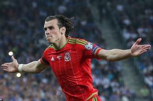 Nối gót Falcao, đến lượt Bale vụt sáng khi lên tuyển