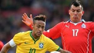 Video bàn thắng: Brazil 1-0 Chile (Giao hữu quốc tế)