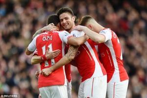 Tại sao Arsenal có thể chiếm vị trí thứ 2 của Man City?