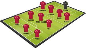 ĐT Tây Ban Nha thay đổi cả đội hình trong trận đấu với Hà Lan