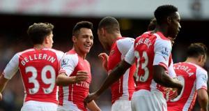 Con đường đến trận bán kết cúp FA Anh 2014/2015 của Arsenal