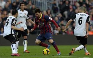 """Thống kê: Valencia là """"con mồi"""" ưa thích của Messi"""