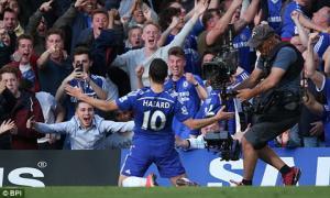 Màn trình diễn siêu đẳng của Eden Hazard ở trận Chelsea 1-0 M.U