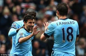 TRỰC TIẾP: Man City 2-1 Aston Villa (Hiệp 2): Tom Cleverley mau chóng gỡ lại 1 bàn