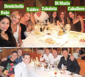 """MU thua Chelsea: Di Maria rủ """"đồng hương"""" tiệc tùng linh đình"""