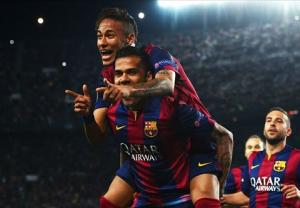 Giúp Barca hạ đẹp PSG, người hùng Neymar phấn khích tột độ