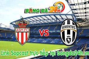 Link sopcast Monaco vs Juventus (01h45-23/04)