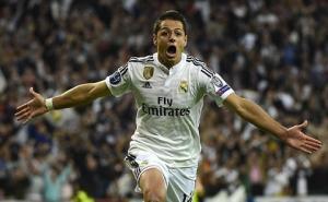 Thống kê: Chicharito chỉ thua mỗi Ronaldo, Messi