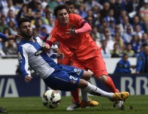 Song sát Messi - Neymar nổ súng, Barca thắng nhẹ ở derby Catalan