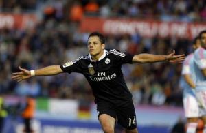 Gà son Chicharito tỏa sáng thay Ronaldo, Real thắng sôi động trên sân khách