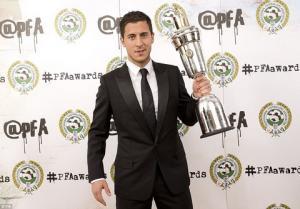 NÓNG: Eden Hazard đoạt danh hiệu Cầu thủ xuất sắc nhất Premier League 2014-2015