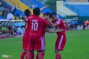 Video clip bàn thắng: Hải Phòng 0-0 Bình Dương (Vòng 8 V-League 2016)