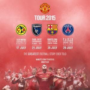 Chính thức: Man United hẹn Barcelona và PSG trong chuyến du đấu hè 2015