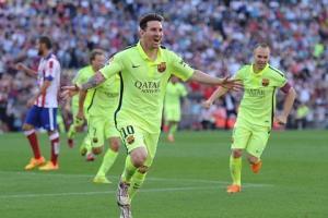Những nét chấm phá về Lionel Messi của Barca trong mùa giải 2014-2015