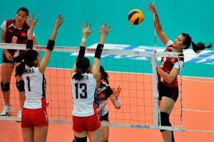 TRỰC TIẾP: Bóng chuyền Nữ Việt Nam vs Nữ Đài Loan (SET 3): Việt Nam bị dẫn 0-2 (18-25, 20-25)
