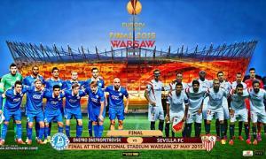 Dnipro vs Sevilla (1h45 28/5 – chung kết Europa League): Viết lại lịch sử ở Warsaw