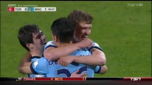 Video clip bàn thắng: Toronto 0-1 Man City (Giao hữu)