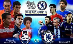 Thái Lan All Stars 0-1 Chelsea (KT): Hazard, Costa im tiếng, The Blues thắng nhẹ trên đất Thái