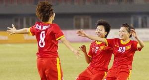 Nữ Việt Nam 7-0 Nữ Malaysia (KT): QBV 2014 Tuyết Dung lập hat-trick siêu phẩm trong cơn mưa bàn thắng