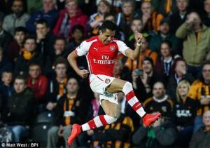 Hull City 1-3 Arsenal: Pháo dễ dàng hạ hổ ngay tại hang hùm