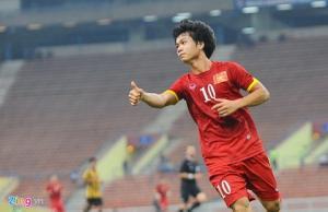 Công Phượng được tín nhiệm mặc áo số 10 ở U23 Việt Nam
