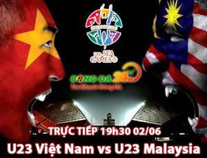 U23 Viet Nam 5-1 U23 Malaysia (Ket thuc): Chien thang khong tuong nho man trinh dien thang hoa cua Messi Viet Nam