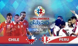 TRỰC TIẾP BÁN KẾT COPA AMERICA 2015: Chile vs Peru 06h30 ngày 30/6