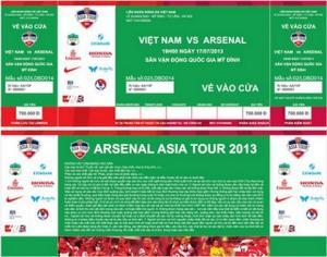 Giá vé trận Việt Nam vs Man City lên đến 1,8 triệu đồng
