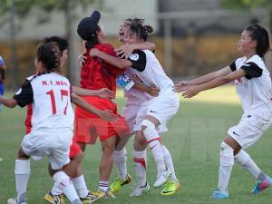 VIDEO: U14 nữ Việt Nam đánh bại Thái Lan ở chung kết giải châu Á 2015