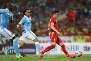 Video bàn thắng: Việt Nam 1-8 Man City (Giao hữu hè 2015)