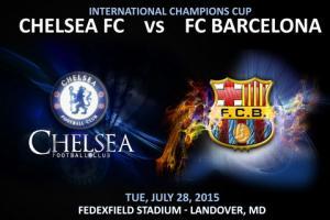 TRỰC TIẾP GIẢI ĐẤU ICC 2015: Chelsea va Barcelona 7h00 ngày 29/7