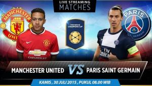 08H00 30/7 TRỰC TIẾP MU vs PSG International Champions Cup 2015