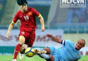 Mua vé trận Việt Nam vs Man City ở đâu, lúc nào?