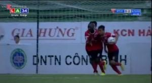 Video clip bàn thắng: ĐTLA 4-3 QNK.Quảng Nam (Vòng 14 V-League 2015)