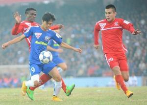 17H00 TRỰC TIẾP HAGL vs Hải Phòng vòng 14 V-League 2015