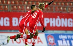 Video bàn thắng: Hải Phòng 2-0 SHB Đà Nẵng (Vòng 19 V-League 2015)