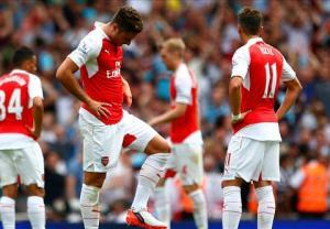 """Vấn đề của Arsenal: Đang """"lên đỉnh"""" thì hết đạn"""