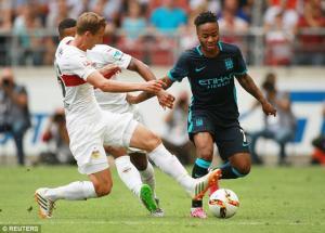 Video clip bàn thắng: Stuttgart 4-2 Man City (Giao hữu hè 2015)