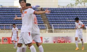 Video clip bàn thắng: U19 Việt Nam 2-0 U19 Myanmar (U19 Đông Nam Á 2015)
