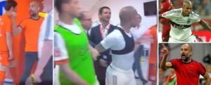 SỐC: HLV Guardiola suýt tẩn nhau với đồ tể De Jong