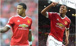 Depay và Martial đang không hạnh phúc ở M.U vì Van Gaal