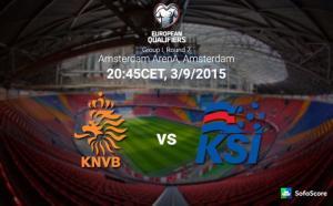 Hà Lan 0-1 Iceland: Robben chấn thương, Indi nhận thẻ đỏ, Oranje đành gục ngã trên sân nhà