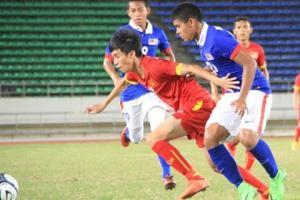 TRỰC TIẾP U19 Việt Nam 0-0 U19 Thái Lan (Hiệp 1): U19 Việt Nam mất penalty!