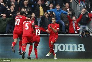 Tổng hợp: Swansea 1-2 Liverpool (Vòng 7 Premier League 2016/17)