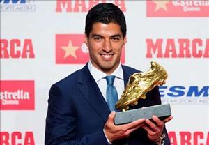 Nhận Chiếc giày vàng, Suarez thổ lộ muốn giải nghệ tại Barca